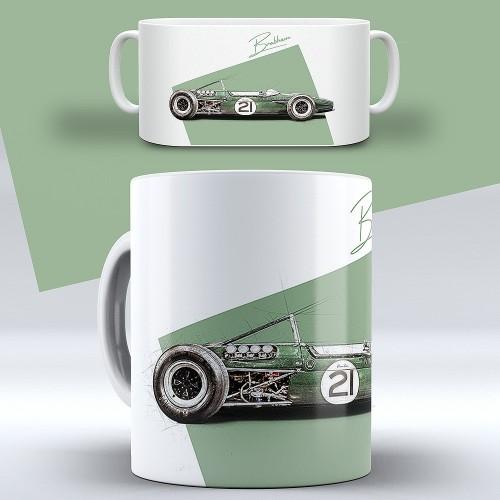 "ChromeCars® Tasse ""Jochen Rindt Brabham BT-23"""