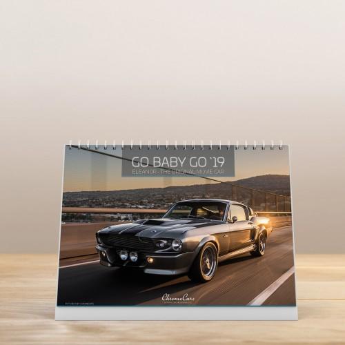 "ChromeCars® Tischkalender ""Go-Baby-Go"" 2019 (DIN A5)"