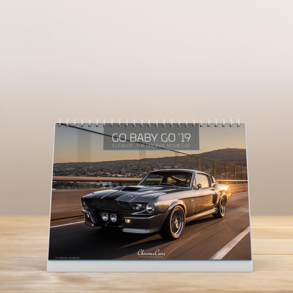 Tischkalender Go Baby Go'19 (DIN A5)