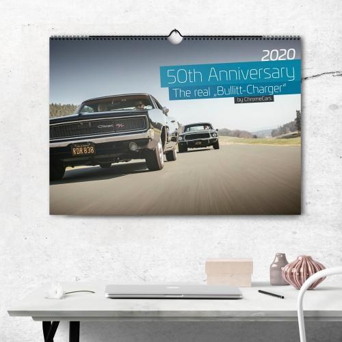 """Wandkalender """"The Real Bullitt Charger"""" 2020 (DIN A2) -..."""